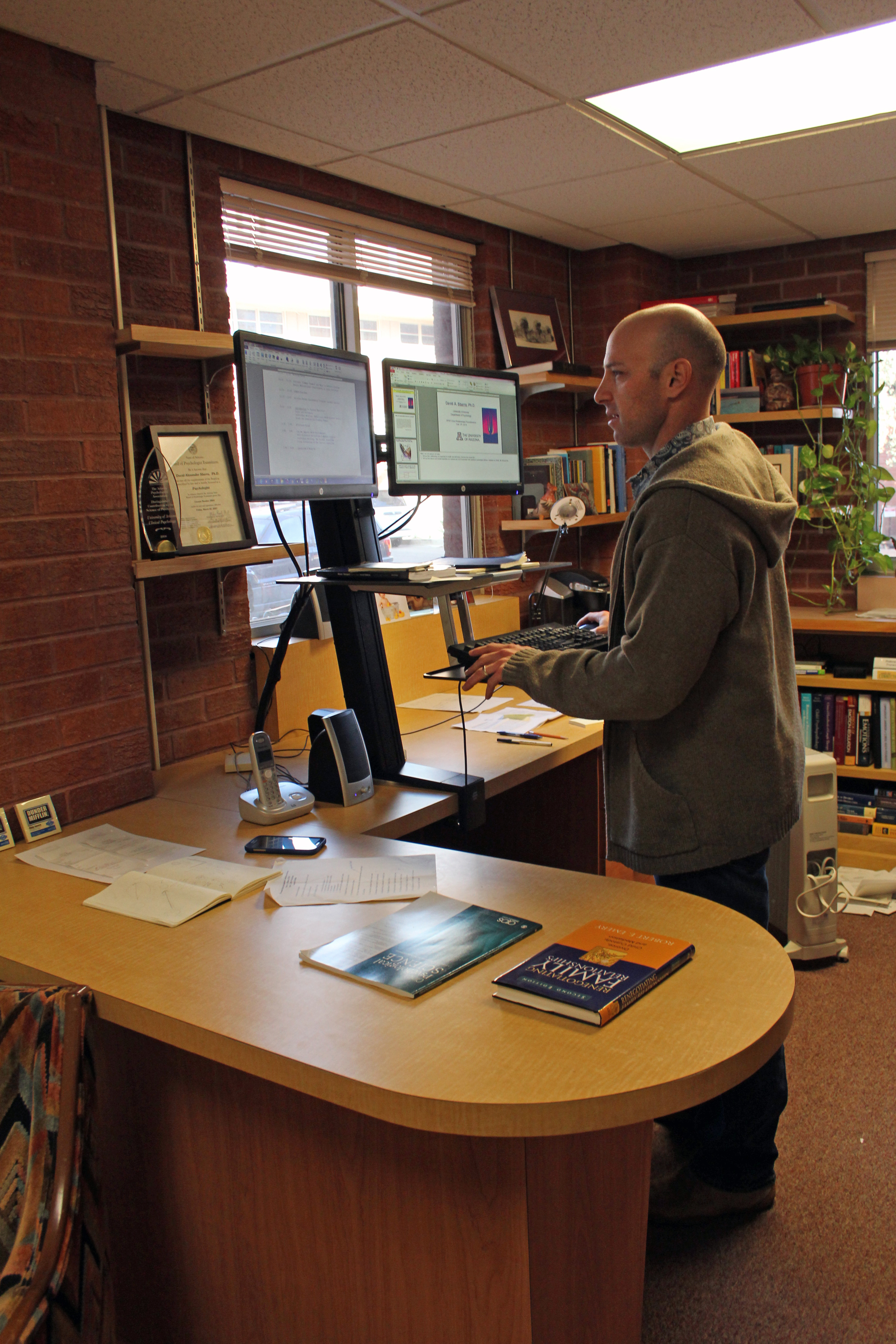 Guest Column A Standing Desk Could Change Your Life Ua Work