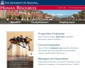 Human Resources' redesigned Web site has categories for prospective employees, current employees, managers and supervisors and transitioning employees.