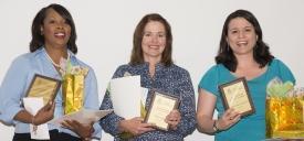 Tanisha Price Johnson, Peggy Nolty and Alejandra Zapien-Hidalgo
