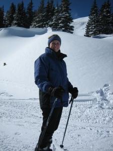 Karen Williams on a ski trip in Colorado. (Photo courtesy of Karen Williams)
