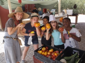 Children willl learn practical skills at the Tucson Village Farm Summer Farm camps.