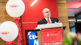 Arizona NOW, the UA's fundraising campaign, celebrated its successful conclusion in February.