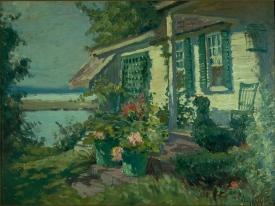 """""""Clark Voorhees House"""" by Matilda Browne"""