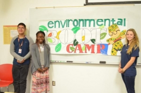 Students will investigate local environmental issues in the Environmental Bootcamp.