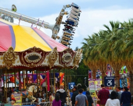 Be sure to check out Spring Fling, the largest student-run carnival in the nation.