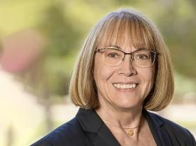 Gail Burd, senior vice provost for academic affairs and principal investigator on the UA's AAU Undergraduate STEM Education grant
