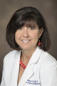 Monica Kraft, chair of the Department of Medicine, holder of the Robert and Irene Flinn Endowed Chair of Medicine at the College of Medicine – Tucson, and deputy director of the Health Sciences Asthma and Airway Disease Research Center