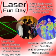 Laser Fun Day is a family-friendly event.