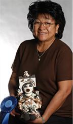 Acoma potter Marilyn Ray