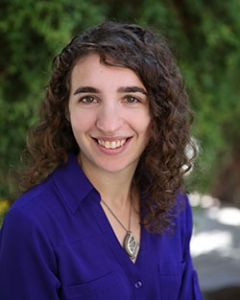 Rivka Fidel, assistant professor of practice, Department of Environmental Science
