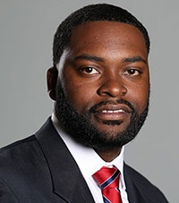 Thomas Harris, assistant athletics director for diversity, inclusion and employee engagement