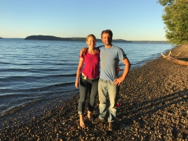 Zack and Alyssa Guido met online, thanks in part to having both served in the Peace Corps.