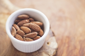 Keeping healthy snacks at your desk can be a lifesaver when cravings hit.