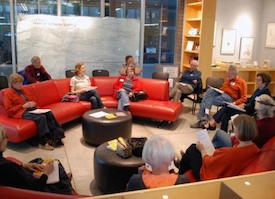 The Closer Look Book Club meets monthly at the UA Poetry Center.