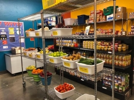 The Campus Pantry has changed its hours and location.