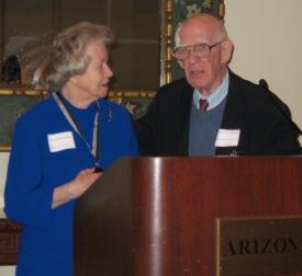 Carol Gifford and Ray Thompson