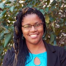 Cheree Meeks, director of the First Year Experience in the UA Honors College and a 2017-18 fellow.