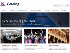 A task force came together to reimagine the UA's online General Catalog.