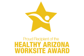 The UA won a Healthy Arizona Worksite Gold Award from the Healthy Arizona Worksites Program.
