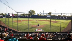 The University received a 2019 Field of Excellence Award from Pioneer Athletics for Hi Corbett Field, the home of Arizona Baseball.