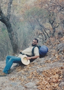 Jenkins on a trip to Mexico. He made many trips to Sonora, Mexico, to study native plants. (Photo courtesy of Patty Todd)