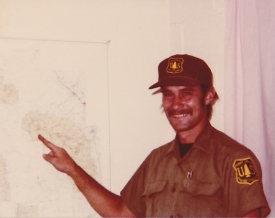 Jenkins joined the U.S. Forest Service around 1980. (Photo courtesy of Patty Todd)
