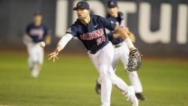 The baseball team will take on the Sun Devils at Hi Corbett Field at 7 p.m. on April 4.