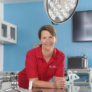 Julie Funk, dean of the College of Veterinary Medicine