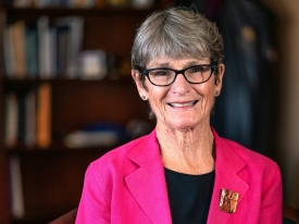 """Ida M. """"Ki"""" Moore became the permanent dean of the College of Nursing on July 1 after serving for 10 months as interim dean."""