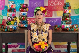 Lila Downs, a multi-Grammy award-winning singer from Mexico, comes to Centennial Hall on Oct. 16.