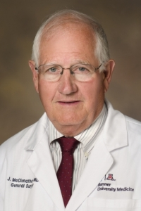 James H. McClenathan, professor of surgery