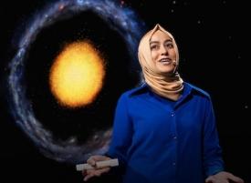 Burçin Mutlu-Pakdil, postdoctoral researcher in Steward Observatory