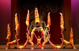 For almost 50 years the Peking Acrobats have entertained audiences of all ages.
