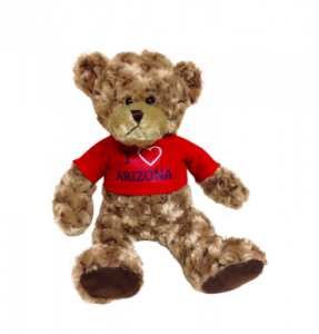 You can buy this bear and other UA Valentine's Day gifts at the UA BookStores.