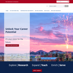 A new applicant landing page went live Jan. 27.
