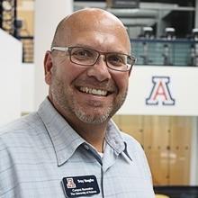Troy Vaughn, director of Campus Recreation