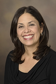 Angela Valencia, research administrator, UA Health Sciences Office of Research Administration