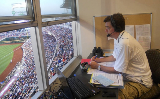 Brian Jeffries has called more than 1,500 Wildcat football, basketball and baseball games.