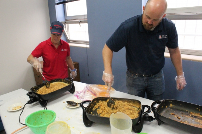 Last year's chorizo breakfast fundraiser, held by the Budget Office, raised more than $2,300. Organizers will hold the event again this year for the 18th time.