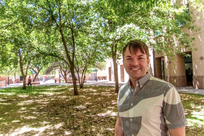 Erik McEwen, the UA's new social media manager, said he hopes to create a more collaborative structure for all of the UA's social media efforts.