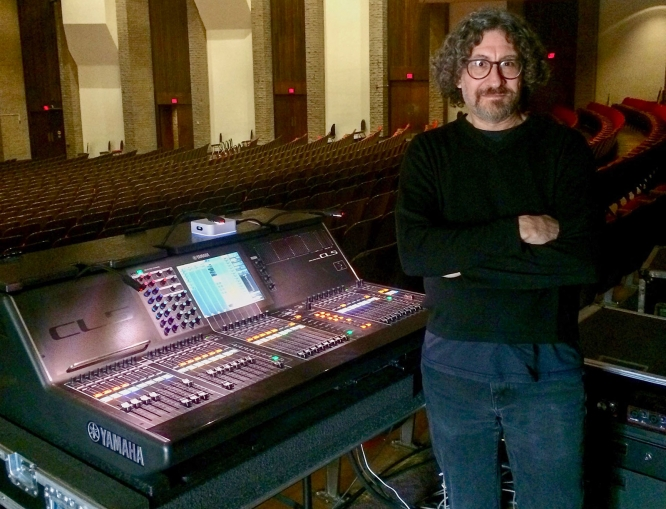 Matt Marcus, instructor of sound design in the School of Theatre, Film and Television