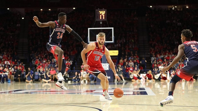 Arizona men's basketball opens regular season play on Nov. 7. (Photo: Chris Hook for Arizona Athletics)