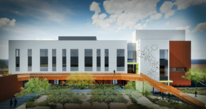 Rendering courtesy of GLHN Architects & Engineers, Inc.