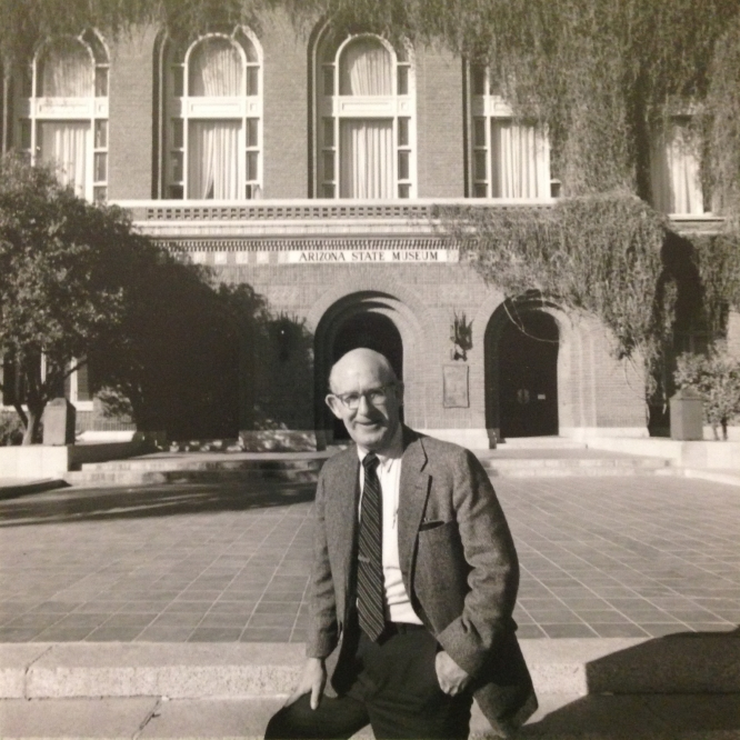 Raymond H. Thompson served as director of the Arizona State Musuem from 1964 to 1997 and head of the Department of Anthropology, now the School of Anthropology, from 1964 to 1980.