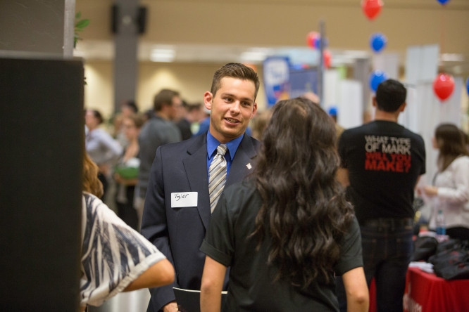 Preparing students for career fairs is one of the many offerings of the Student Engagement and Career Development office.