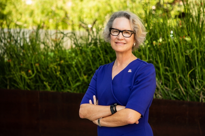 Betsy Cantwell began as senior vice president for research and innovation in July.