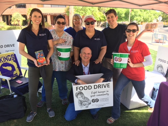 The UA4Food campaign, which benefits the Community Food Bank of Southern Arizona and the UA Campus Pantry, began on March 5 and runs through April 4.