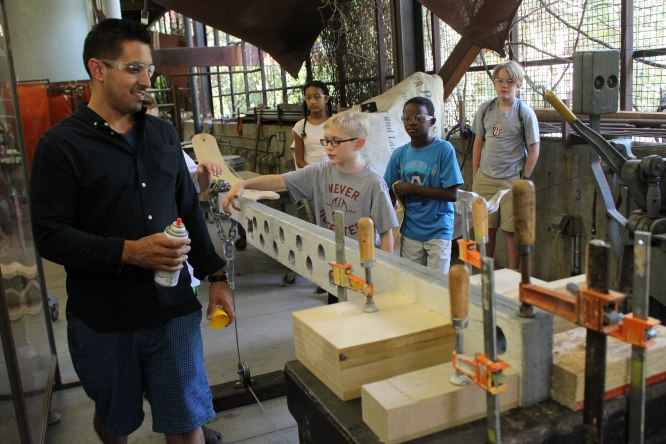 Aspiring young architects in grades six through 12 will get a unique glimpse into the world of design and learn college-level skills at Camp Architecture.