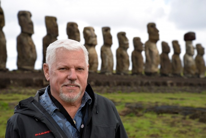 Terry Hunt, dean of the Honors College, is one of the world's foremost experts on the Pacific Islands, which includes Rapa Nui, known by many as Easter Island.