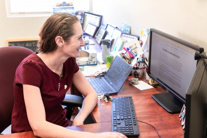 Samara Klar, an associate professor in the School of Government and Public Policy, started Women Also Know Stuff, an online database that promotes the work and expertise of women scholars in political science. The site has grown in popularity since it began in 2016.